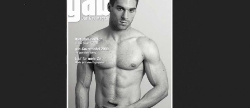 Julien Odoul, nouvelle recrue à la direction du Front National, a fait des photos sexy pour des magazines gay