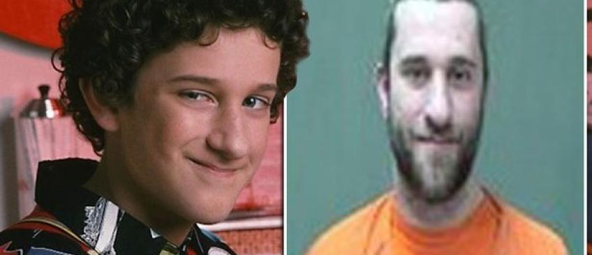 """Dustin Diamond, héros de la série """"Sauvés par le gong"""" condamné cette nuit à 11 mois de prison par un tribunal américain"""