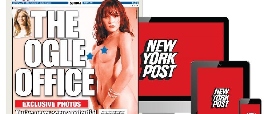 Le New York Post publie des photos entièrement nue de celle qui sera peut-être la 1ère Dame des USA: Mélania Trump