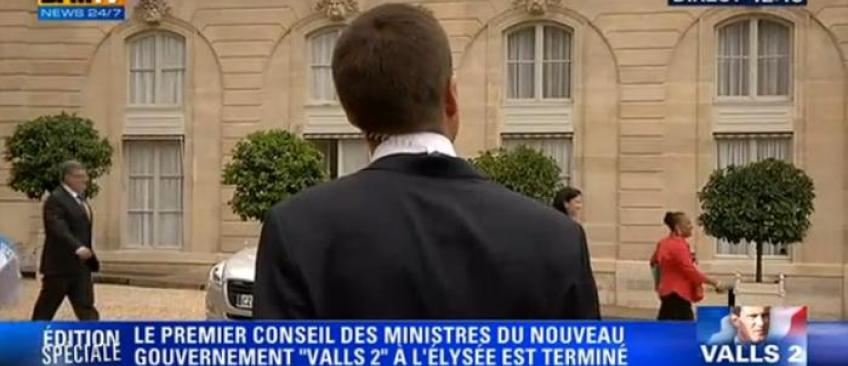 Christiane Taubira interpellée, en direct, par un journaliste de BFM TV - Regardez