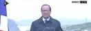 L'Elysée explique pourquoi François Hollande n'avait pas de parapluie hier lors de son discours à l'Ile de Sein