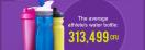Boire dans une bouteille déjà utilisée sans la laver peut être similaire à… lécher la lunette des WC