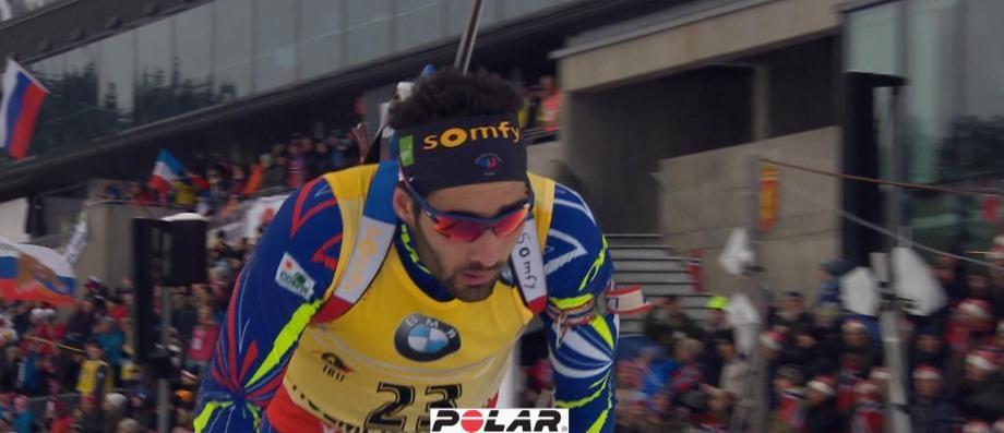 Le biathlète français, double champion olympique, Martin Fourcade tacle Europe 1 sur ses audiences après un tweet ironique de la station sur ses résultats...