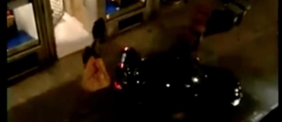 Cette nuit, plusieurs hommes ont cambriolé la boutique Louis Vuitton de Lille - Un riverain a filmé toute la scène ! - VIDÉO