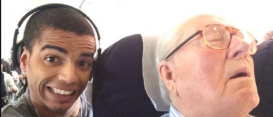 La condamnation de Brahim Zaibat confirmée après le selfie avec Jean-Marie Le Pen endormi