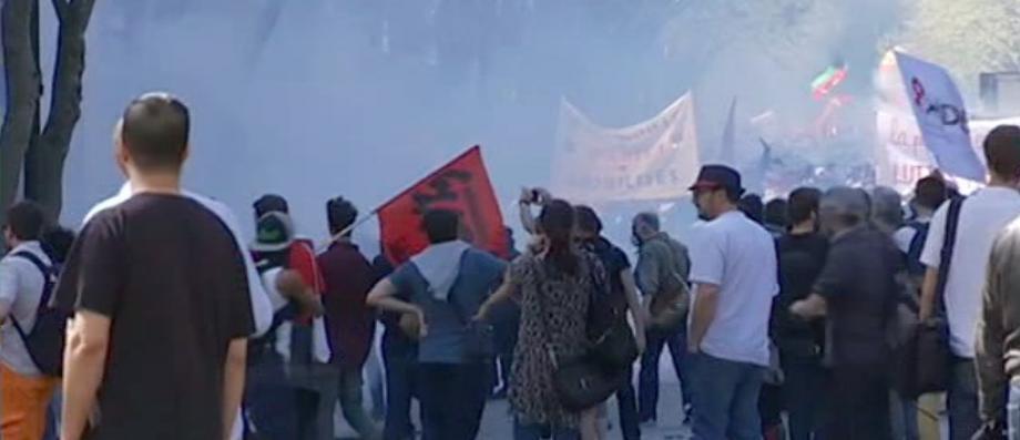 EN DIRECT - Manifestation à Paris: Nouveaux incidents à Paris en ce moment entre policiers et manifestants - VIDEO