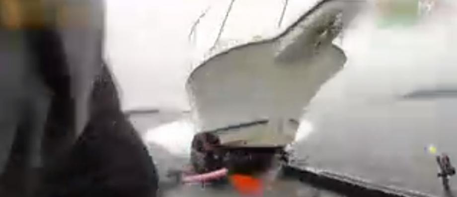 Morandini Zap: Les impressionnantes images d'un yacht qui fonce sur des pêcheurs et détruit leur bateau