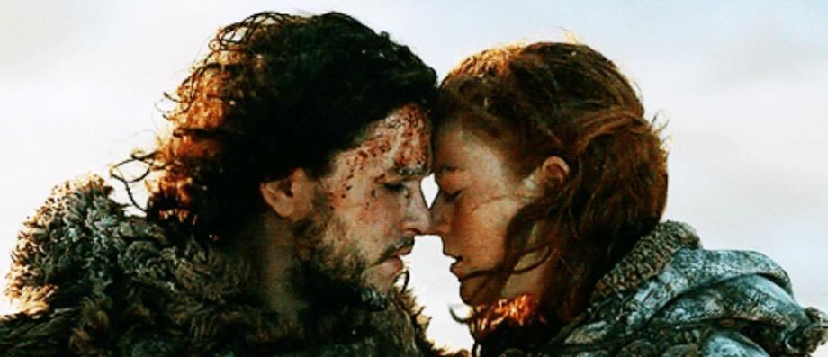 """Les acteurs de la saga """"Game of Thrones"""" Kit Harington (Jon Snow) et Rose Leslie (Ygritte) annoncent leurs fiançailles"""