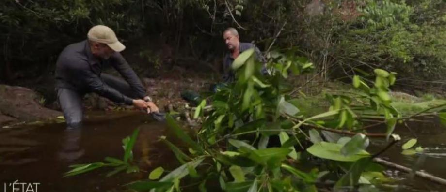 AVANT-PREMIERE: Christophe Dechavanne va pousser ses limites à l'extrême en pleine nature en Amérique du Sud sur M6 - VIDEO