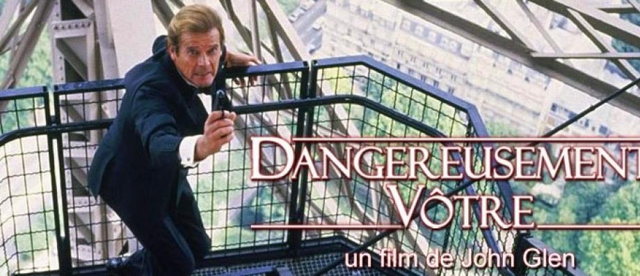 """Audience 2e PS: Le film """"Dangereusement vôtre"""", avec Roger Moore, frôle les 500.000 téléspectateurs à 23h20 sur France 2"""