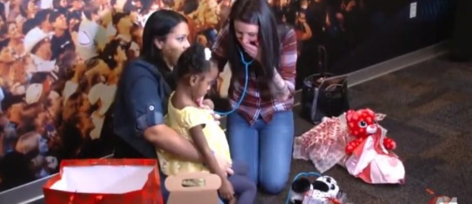 L'incroyable histoire d'une maman qui entend le coeur de..