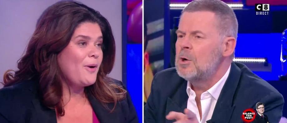 Violent accrochage entre Raquel Garrido et Eric Naulleau hier soir à propos de Jean-Luc Mélenchon dans TP... - Le Blog de Jean-Marc Morandini