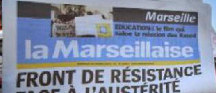 Le quotidien régional La Marseillaise, en redressement judiciaire, prévoit de supprimer la moitié de ses effectifs