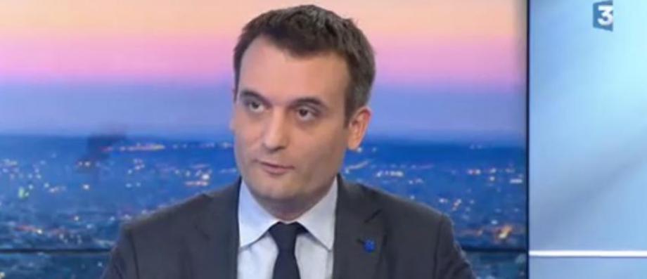 """Marine Le Pen annonce qu'elle a """"pris la décision de retirer à Florian Philippot sa délégation à la stratégie et à la communication"""""""