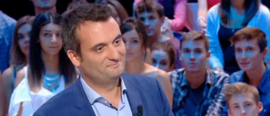 """L'eurodéputé français Florian Philippot, ancien numéro 2 du Front national a lancé officiellement hier à Arras sa formation politique """"Les Patriotes"""""""
