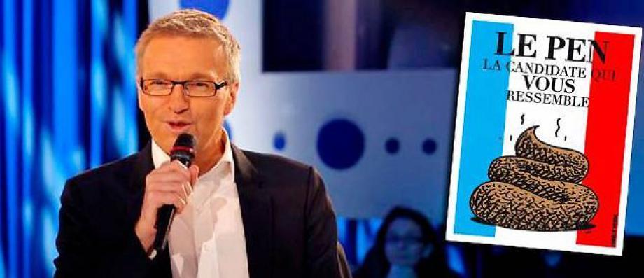 Marine Le Pen à nouveau déboutée contre Laurent Ruquier qui avait montré sur France 2 un dessin la comparant à un étron