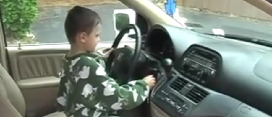 Dans l'Oise, un petit garçon de seulement 11 ans contrôlé par la police ... au volant d'une voiture!