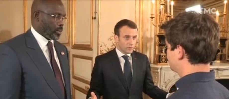 """Emmanuel Macron tacle Martin Weill de """"Quotidien"""" à propos de l'immigration: """"Vous ne faites pas votre travail"""" - VIDEO"""