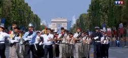 Audiences: France 2 dépasse d'une courte tête TF1 hier matin lors du défilé du 14 juillet avec 2,2 millions de téléspectateurs