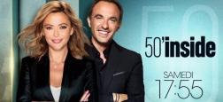 """Audiences Access: """"50 Mn Inside"""" à moins de 3 millions sur TF1 bat d'une courte tête """"N'oubliez pas les paroles"""" sur France 2"""