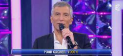 """Audiences access: Avec 2.6 millions de téléspectateurs, Nagui sur France 2 repasse devant le feuilleton de TF1 """"Demain nous appartient"""""""