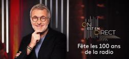 Audiences 2e PS - En fêtant les 100 ans de la radio, à partir de 23h20 sur France 2, Laurent Ruquier frôle le million de téléspectateurs