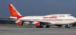 Air India a annoncé la suspension de deux de ses pilotes dont l'avion, avec 136 personnes à bord, a heurté au décollage un mur