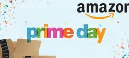 """A travers l'Europe, des salariés d'Amazon en grève contre les journées de super promotions """"Prime Day"""" et le travail supplémentaire réclamé à cette occasion par la société"""
