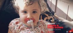 """Angèle, 4 ans torturée à mort chez elle et Martin disparu samedi Bordeaux... A 13h35, en direct sur NRJ12 dans """"Crimes et Faits Divers: la quotidienne"""" - Vidéo"""