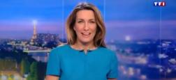 Audiences 20h: Anne-Claire Coudray sur TF1 affiche plus d'un million de téléspectateurs de plus que Laurent Delahousse sur France 2