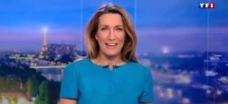 Audiences 20h: Le journal d'Anne-Claire Coudray sur TF1 leader frôle les 5,5 millions de téléspectateurs hier soir