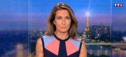 Audiences 20h: Le journal d'Anne-Claire Coudray sur TF1 large leader avec plus de 6 millions de téléspectateurs