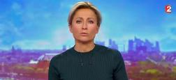 Audiences 20h: Le JT de Gilles Bouleau sur TF1 devance d'un million de téléspectateurs celui d'Anne-Sophie Lapix sur France 2