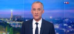 "Audiences 20h: Le JT de TF1 de Gilles Bouleau leader à 5,7 millions - Celui de France 2 à 4,7 millions - ""Quotidien"" sur TMC à 1,7 million"