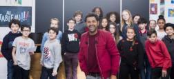 """Nicolas Hulot, Manuel Valls et Jamel Debbouze interrogés par des enfants dans un nouveau numéro de l'émission """"Au tableau"""" le mercredi 7 février en prime sur C8"""
