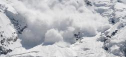 Sept personnes ont été prises dans cette avalanche qui a eu lieu dans le Valais central en Suisse: Bilan 2 morts et 2 personnes disparues