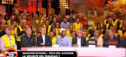 """Audiences 2eme partie de soirée : Plus de 700.000 téléspectateurs hier soir pour le """"Balance ton post"""" spécials Gilets Jaunes et leader TNT"""