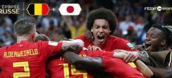 """Audiences Prime:  """"Belgique-Japon"""" à 7,8 millions sur TF1 - France 2, France 3 et M6 quasiment à égalité  2,2 millions de téléspectateurs"""
