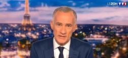 """Audiences 20h: Le journal de TF1 leader à plus de 6,6 millions - """"Scènes de ménages"""" sur M6 puissant à 4,7 millions - """"Quotidien"""" sur TMC à 2,1 millions"""