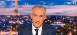 """Audiences 20h: Le journal de Gilles Bouleau est le seul à passer la barre des 5 millions - """"C à vous"""" sur France 5 toujours puissant à près de 1,4 million"""