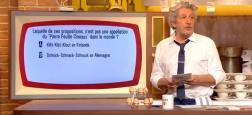 """Audiences TNT: Le """"Burger Quiz"""" reste un succès sur TMC en étant leader et en étant la seule chaîne au-dessus du million"""