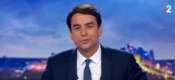 Audiences: Seulement 230.000 téléspectateurs d'écart entre le JT de 20h de TF1, présenté par Julien Arnaud, et celui de France 2 de Julian Bugier