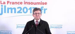 """Jean-Luc Mélenchon affirme avoir """"honte"""" de la façon dont ont été traités, notamment par la France, les migrants à bord de l'Aquarius"""