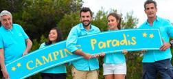 Audiences prime: Camping Paradis petit leader sur TF1 à 3,5 millions - France 2 et et France 3 à égalité quasi parfaite à 3 millions
