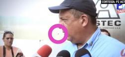 Regardez l'image incroyable du président du Costa-Rica qui avale une guêpe en pleine interview ! - VIDÉO