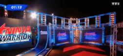 "Audiences prime: La finale de ""Ninja Warrior"" sur TF1 forte à plus de 4.7 millions - Le foot sur France 3 faible à 1.1 million"