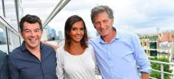 Nicolas de Tavernost annonce que Karine Le Marchand et Stéphane Plaza viennent de resigner pour trois ans avec M6