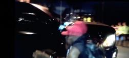 Justin Bieber percute violemment un paparazzi avec sa voiture devant les caméras à Beverly Hills - Regardez