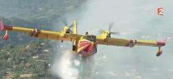 Comment fonctionnent les Canadairs qui sont indispensables pour combattre les plus gros incendies ? - Regardez