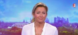 Audiences 20h: Anne-Sophie Lapix reste très puissante sur France 2 à plus de 5.1 millions mais TF1 à 6 millions